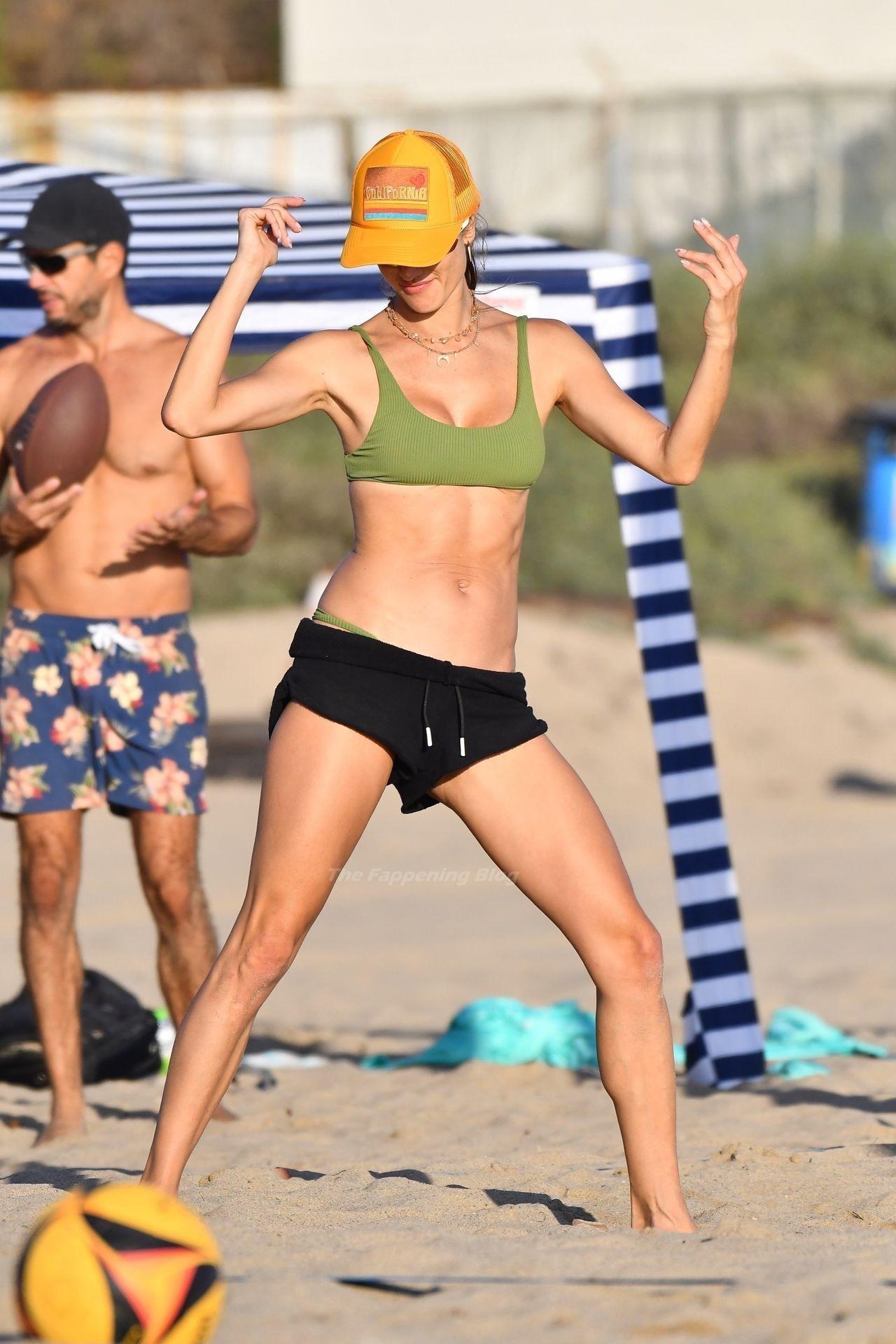 Alessandra Ambrosio Sexy on Beach 24