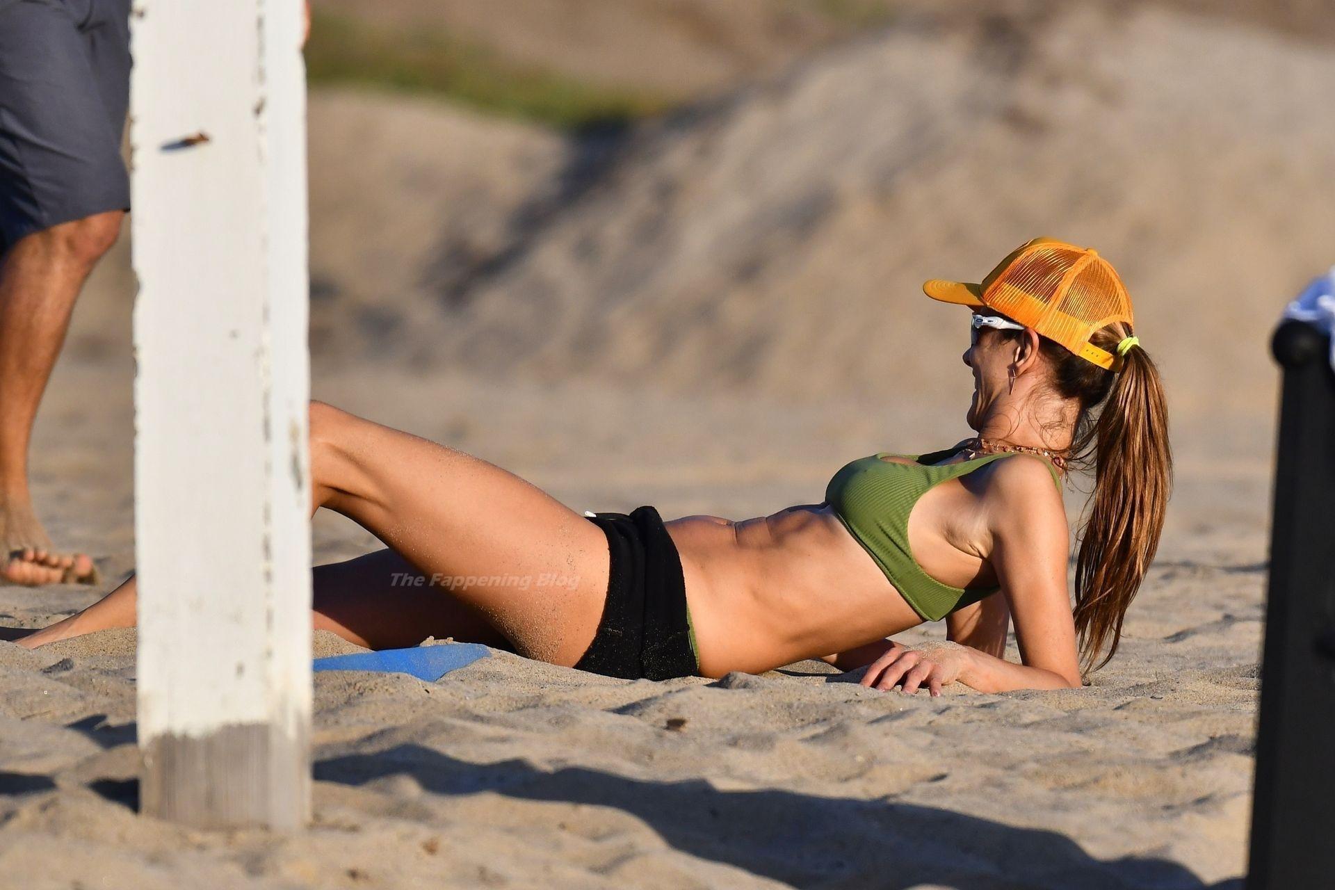 Alessandra Ambrosio Sexy on Beach 28