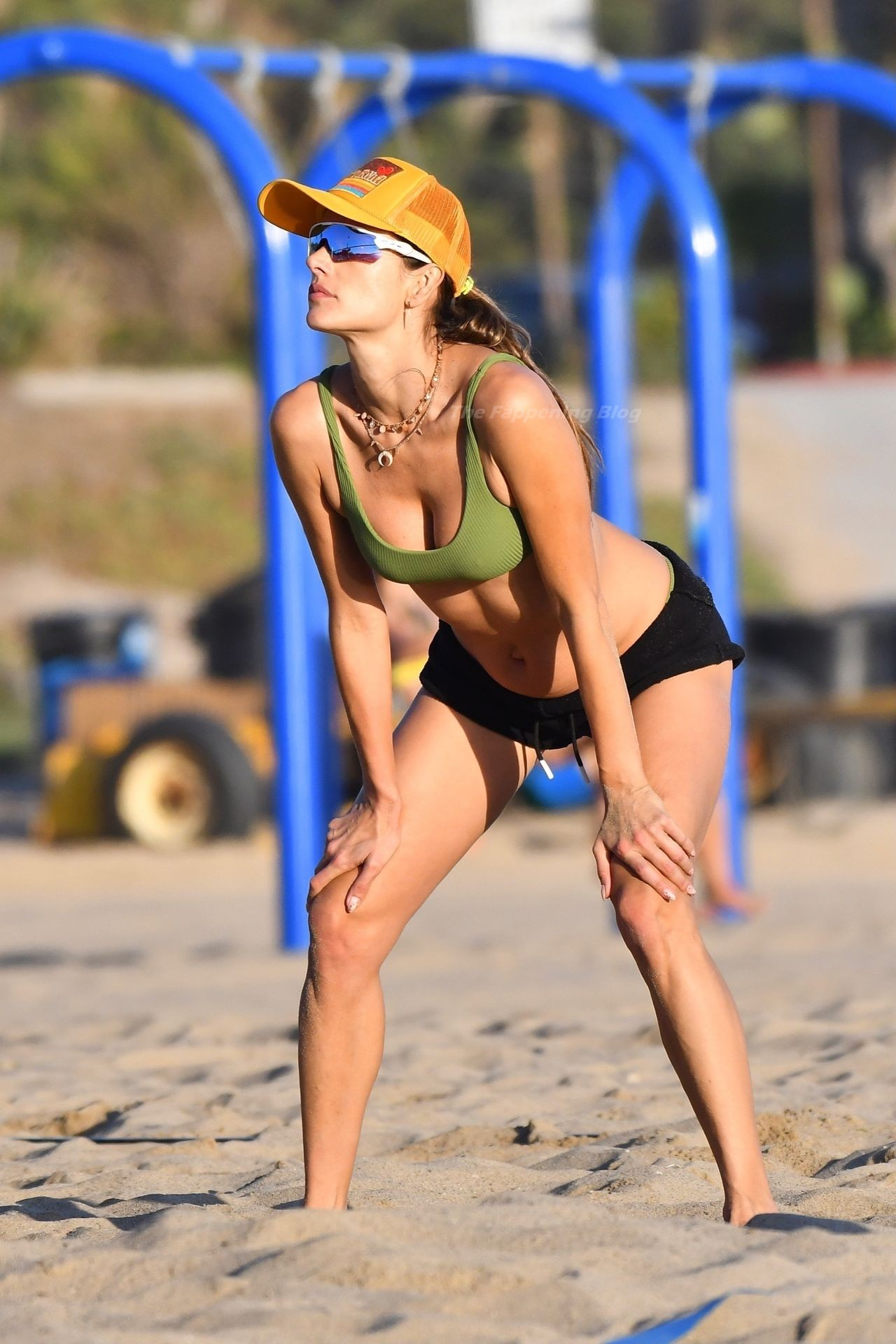 Alessandra Ambrosio Sexy on Beach 30