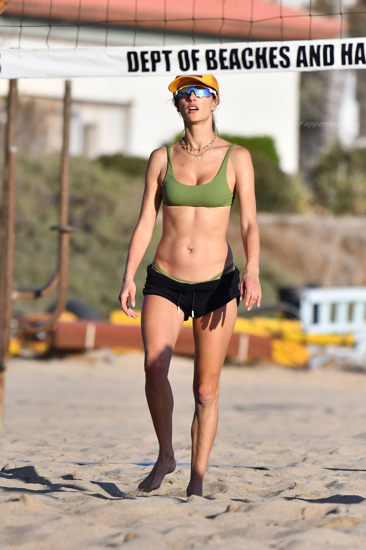 Alessandra Ambrosio Sexy on Beach 4