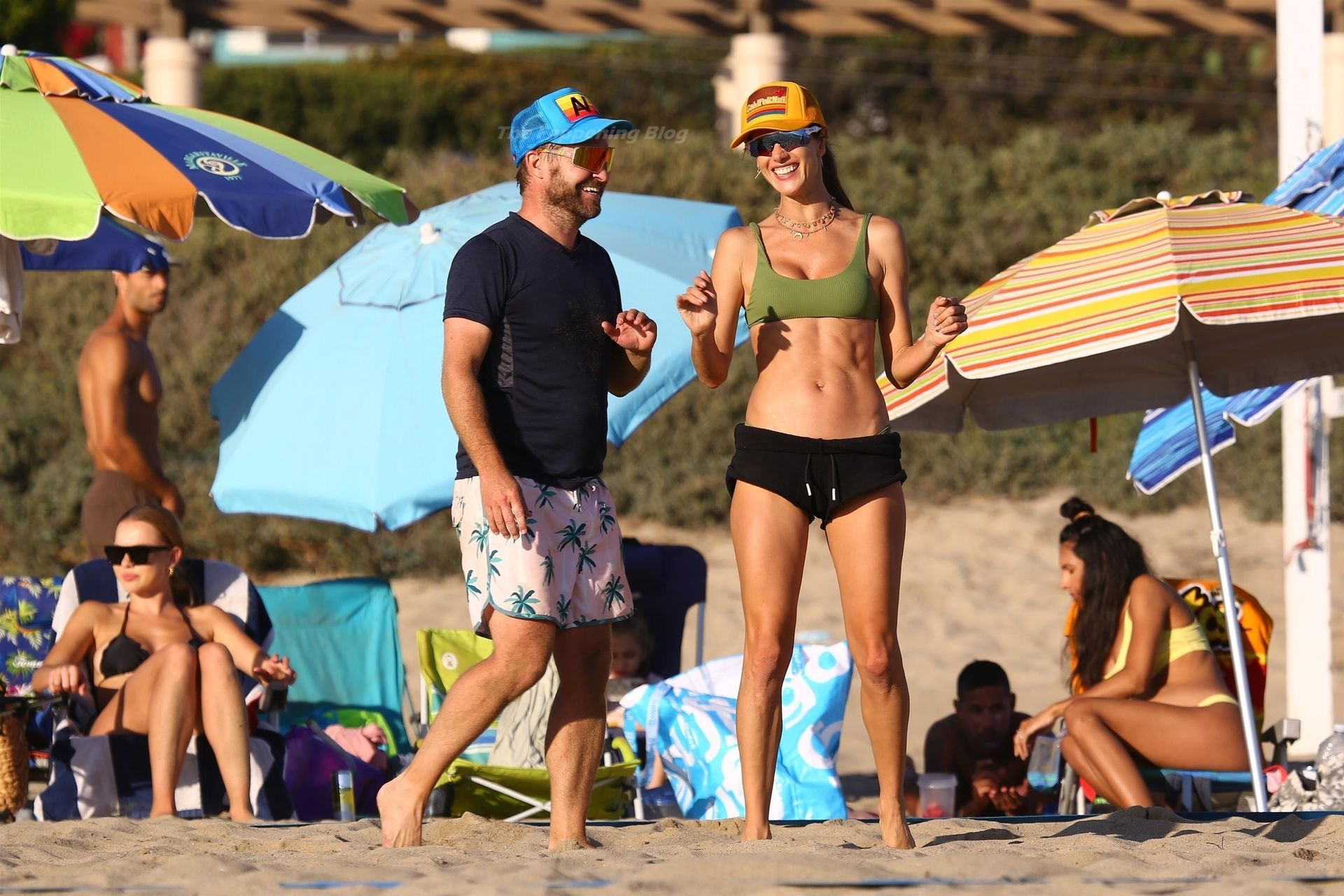 Alessandra Ambrosio Sexy on Beach 33