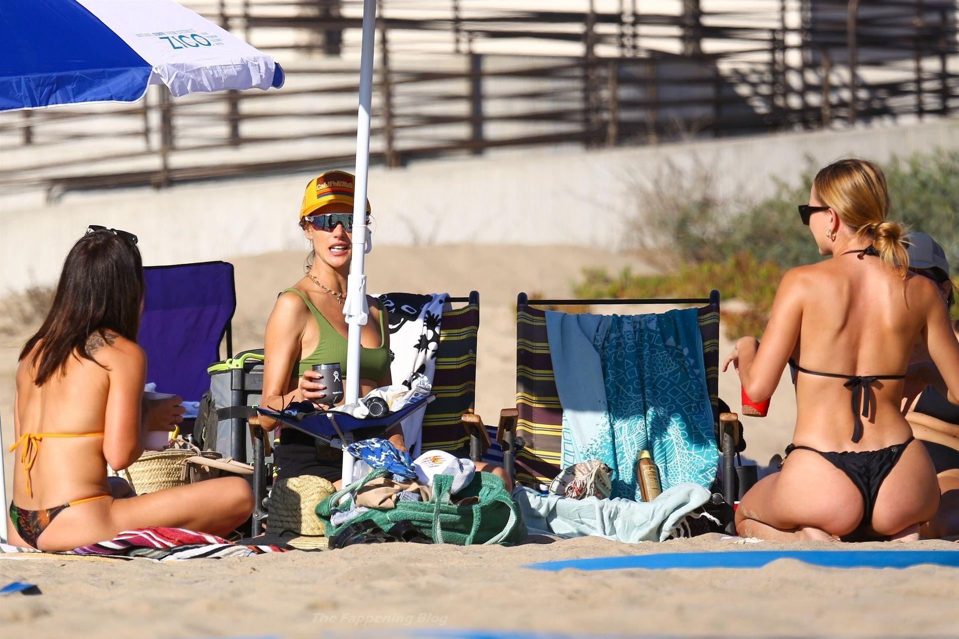 Alessandra Ambrosio Sexy on Beach 35