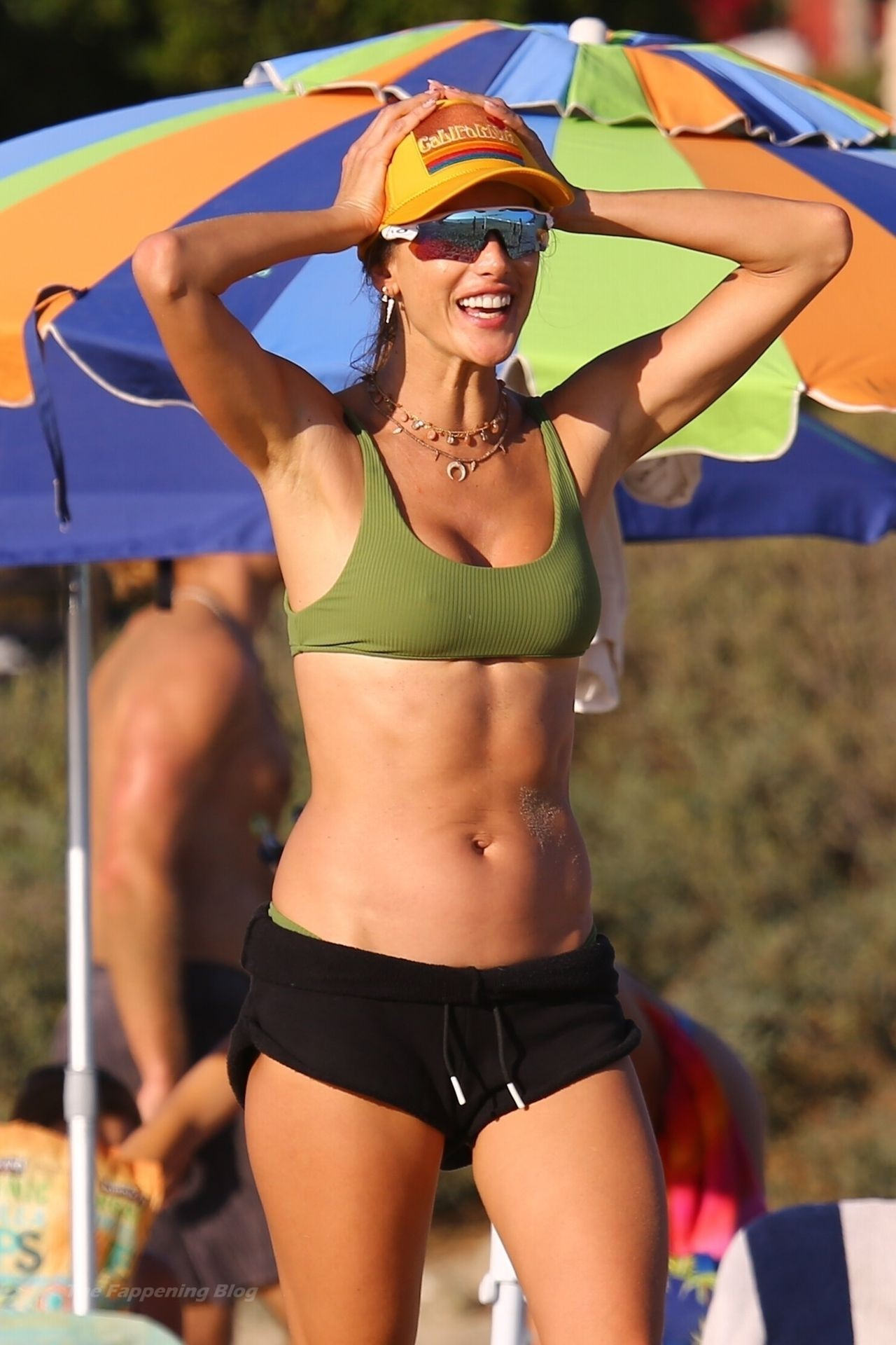 Alessandra Ambrosio Sexy on Beach 42