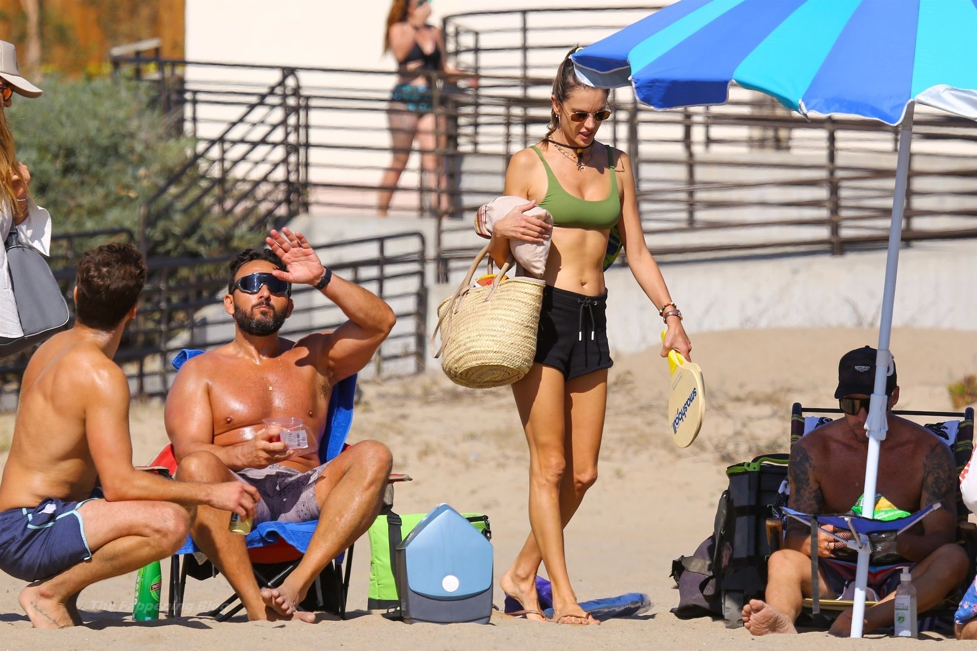 Alessandra Ambrosio Sexy on Beach 44