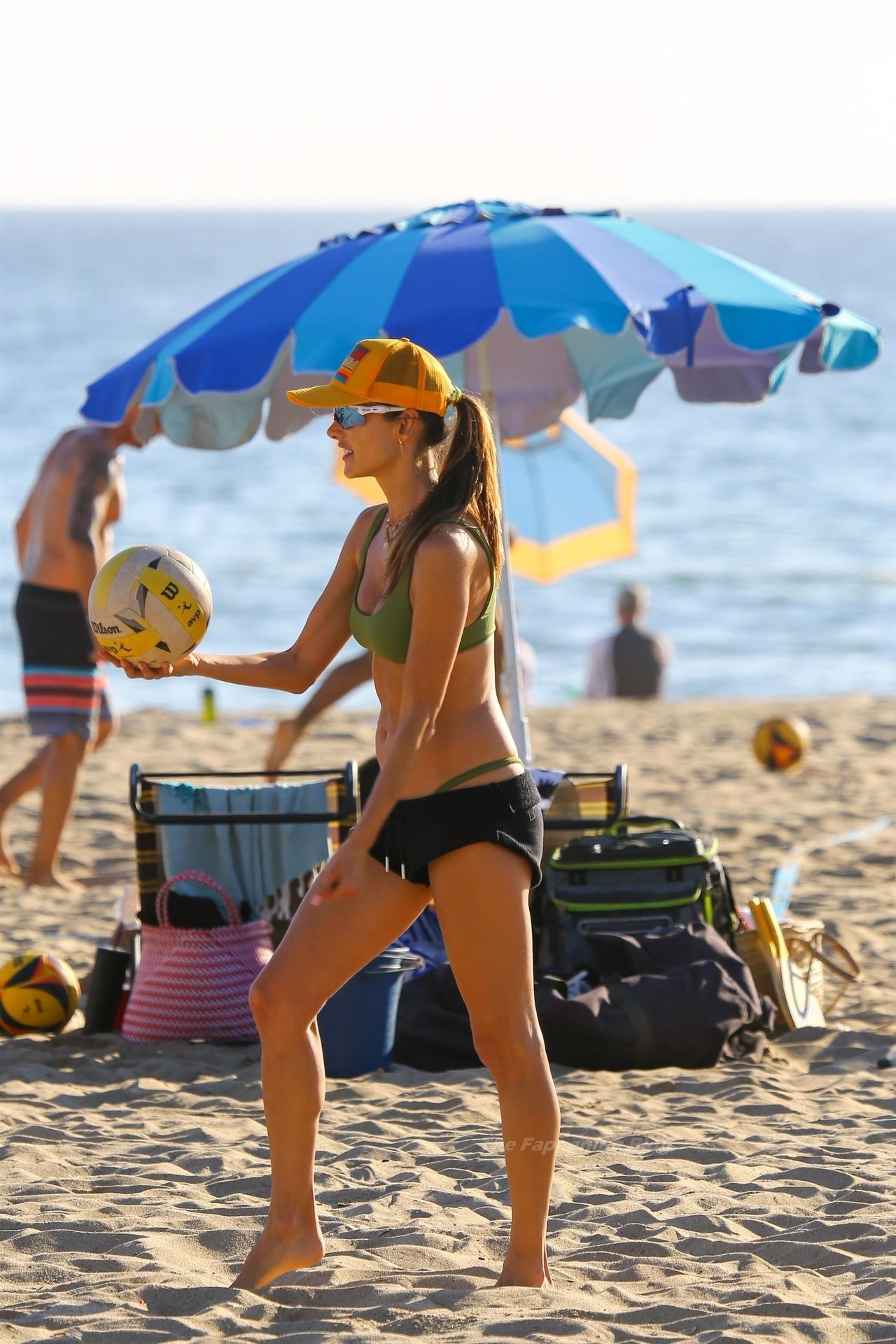 Alessandra Ambrosio Sexy on Beach 67
