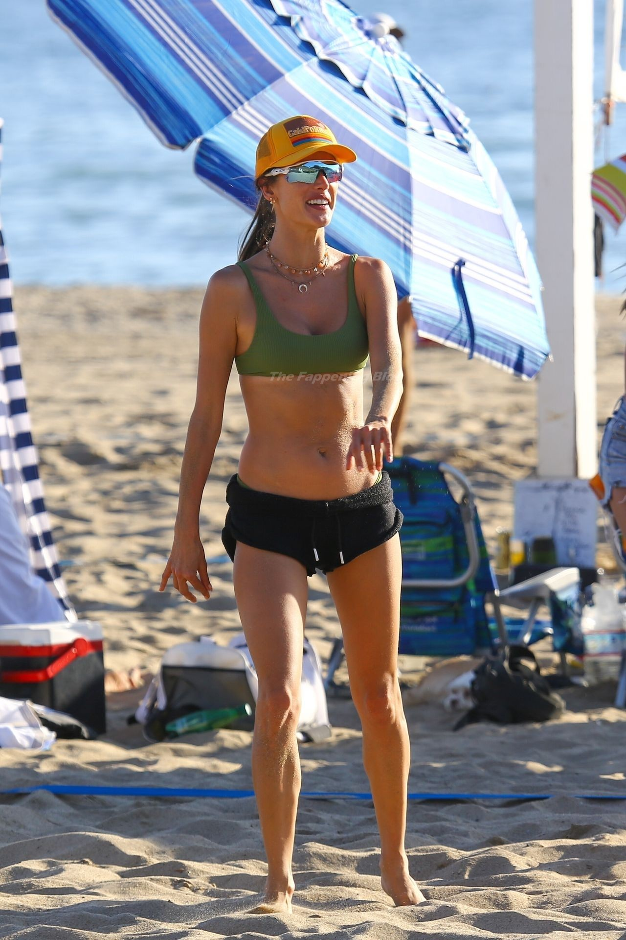 Alessandra Ambrosio Sexy on Beach 81