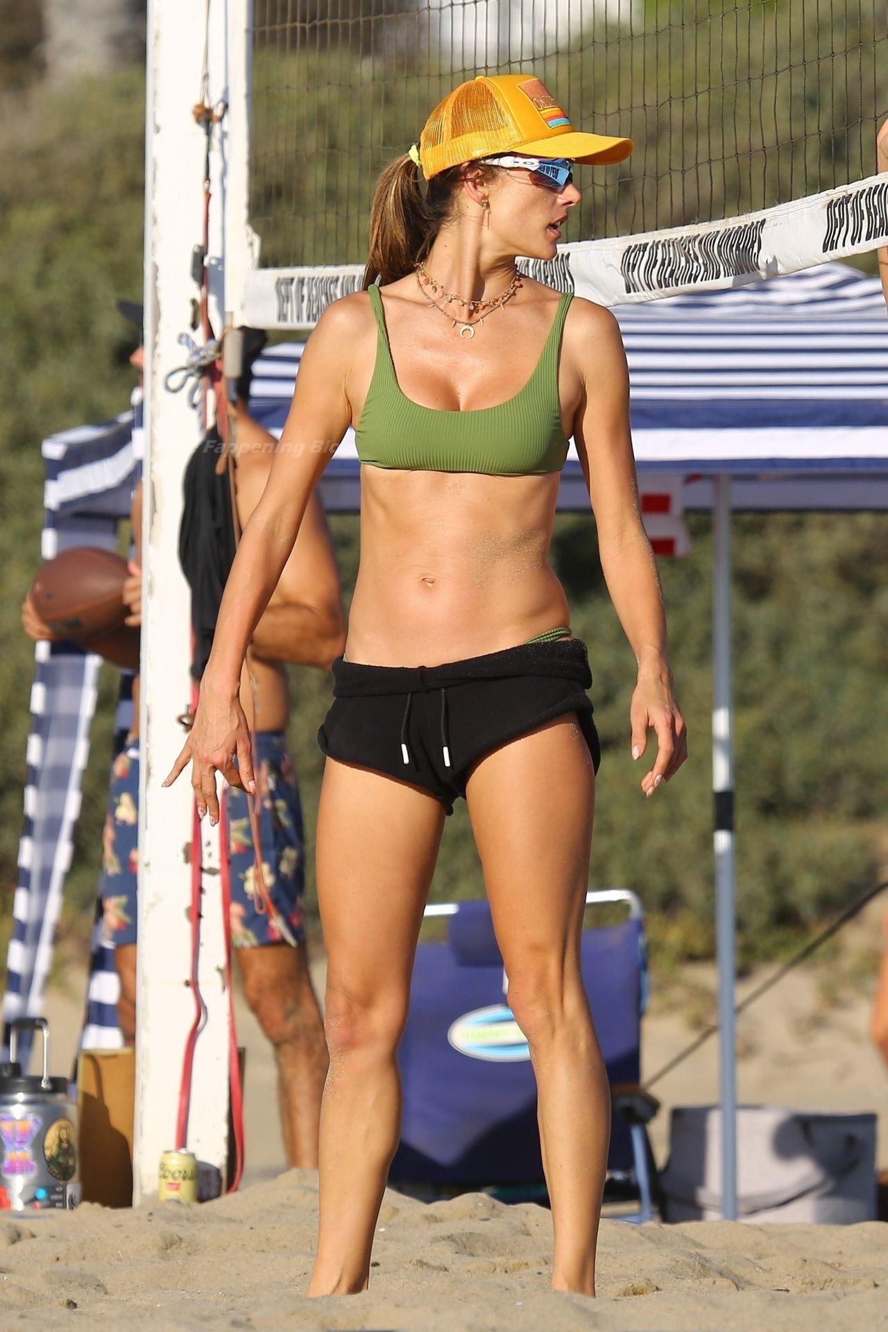 Alessandra Ambrosio Sexy on Beach 85