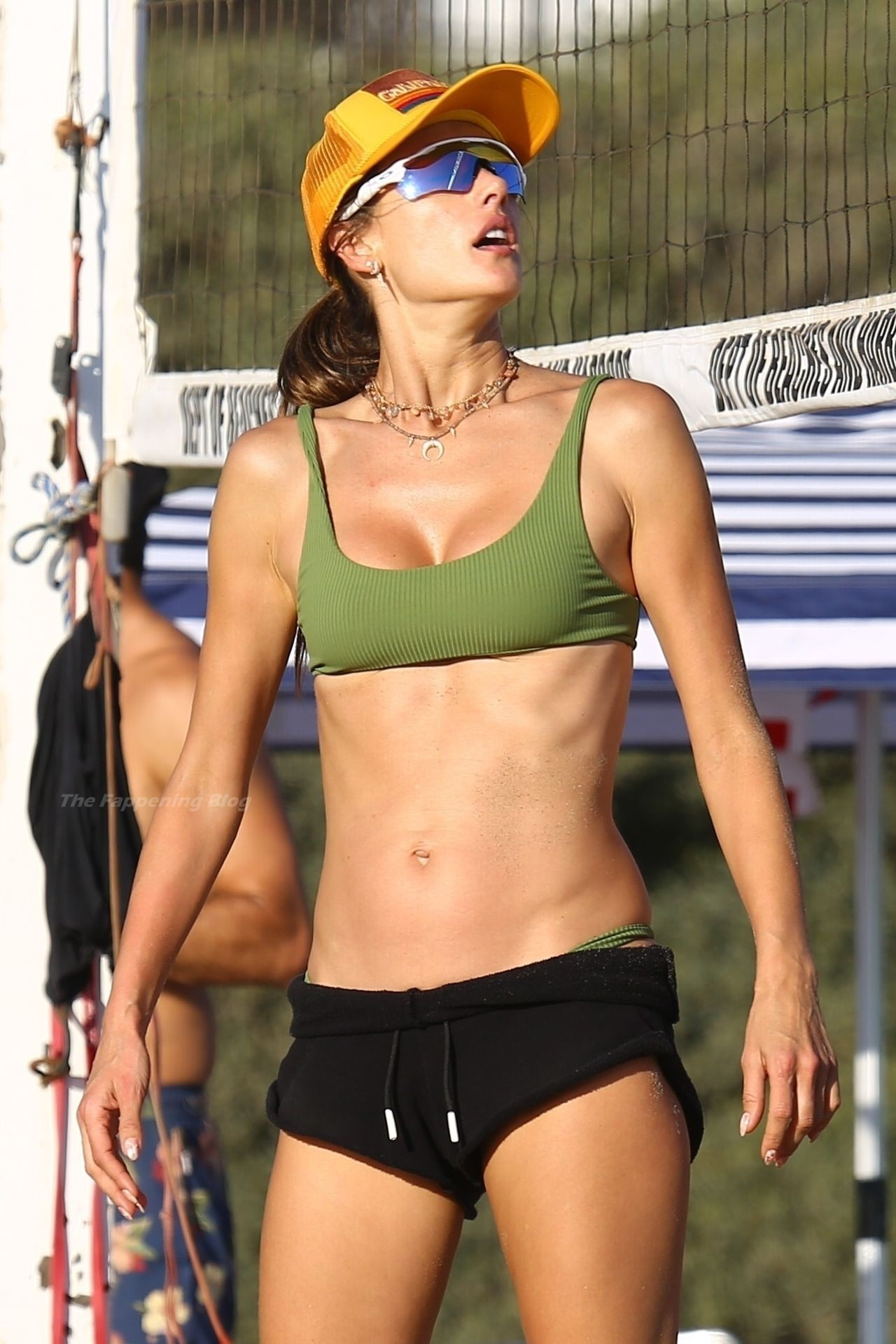 Alessandra Ambrosio Sexy on Beach 86
