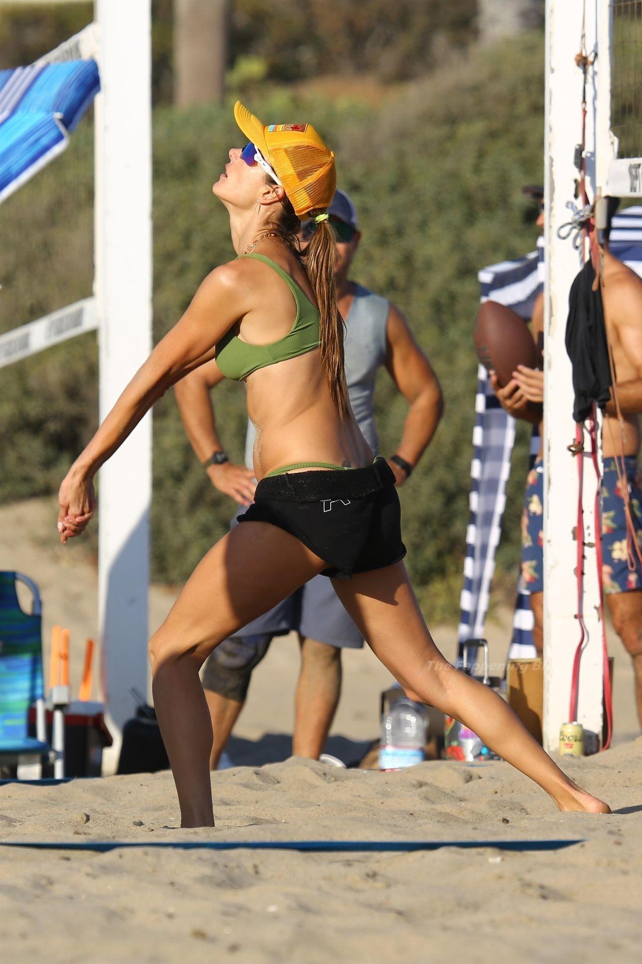 Alessandra Ambrosio Sexy on Beach 88