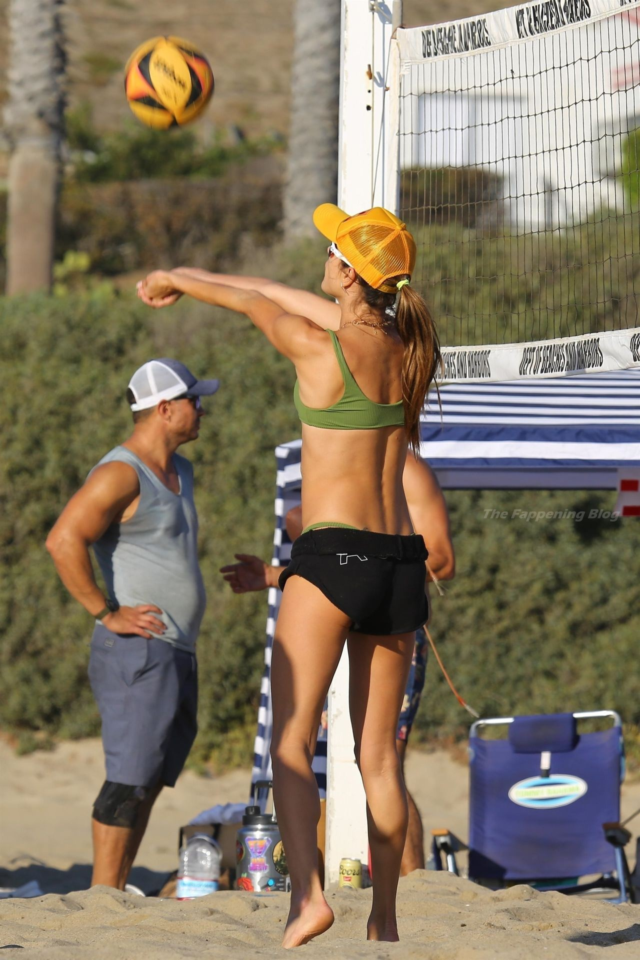 Alessandra Ambrosio Sexy on Beach 90