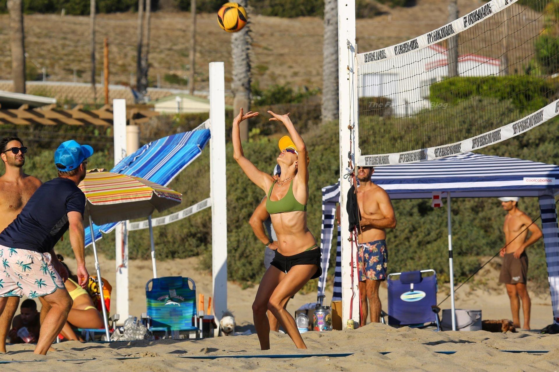 Alessandra Ambrosio Sexy on Beach 91