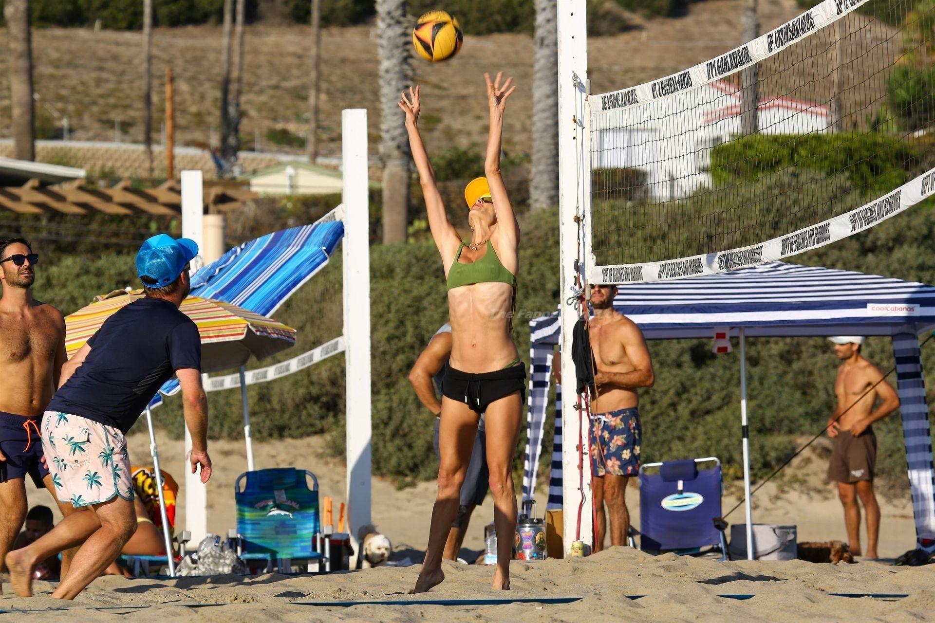 Alessandra Ambrosio Sexy on Beach 92