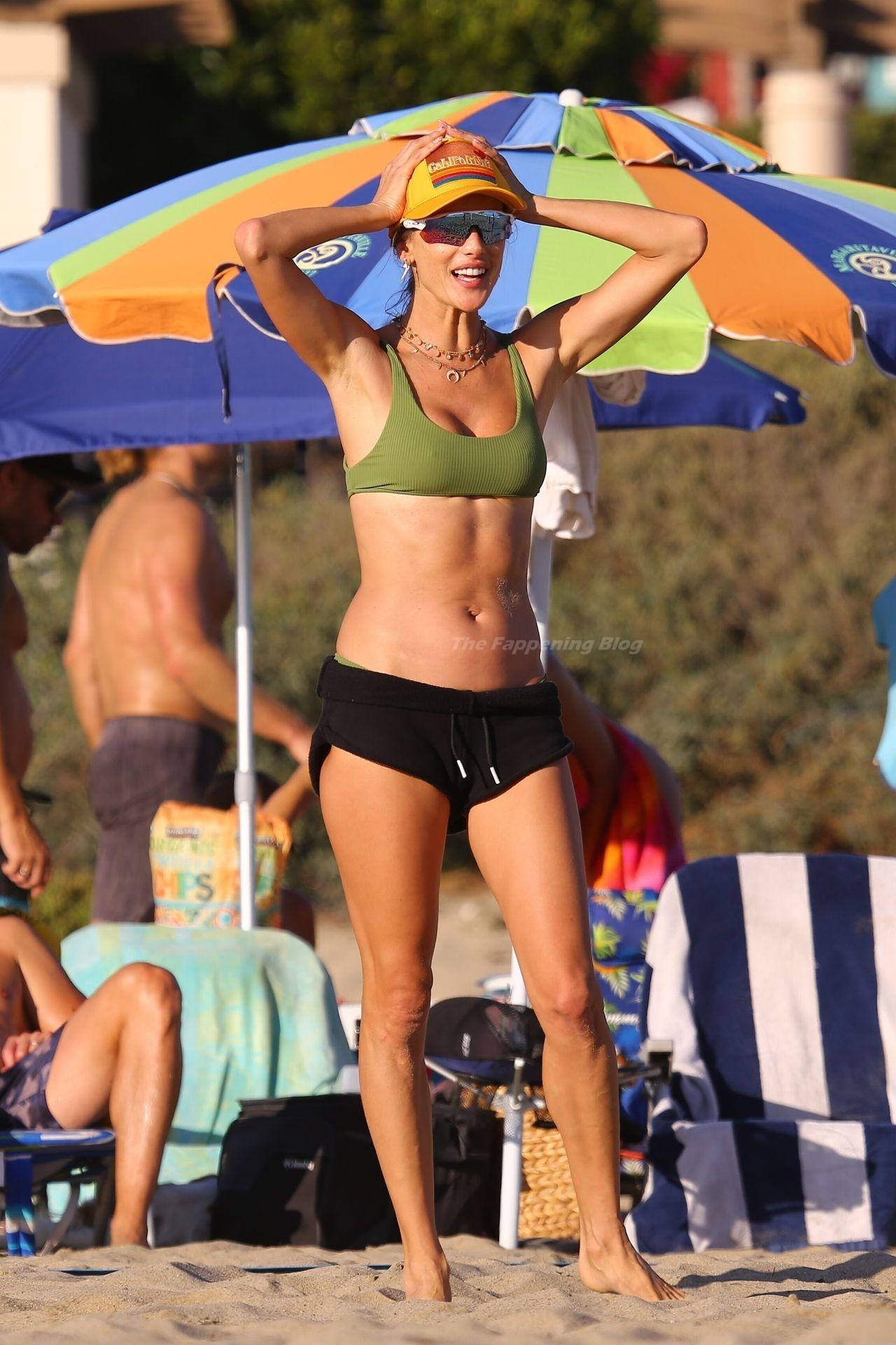 Alessandra Ambrosio Sexy on Beach 96