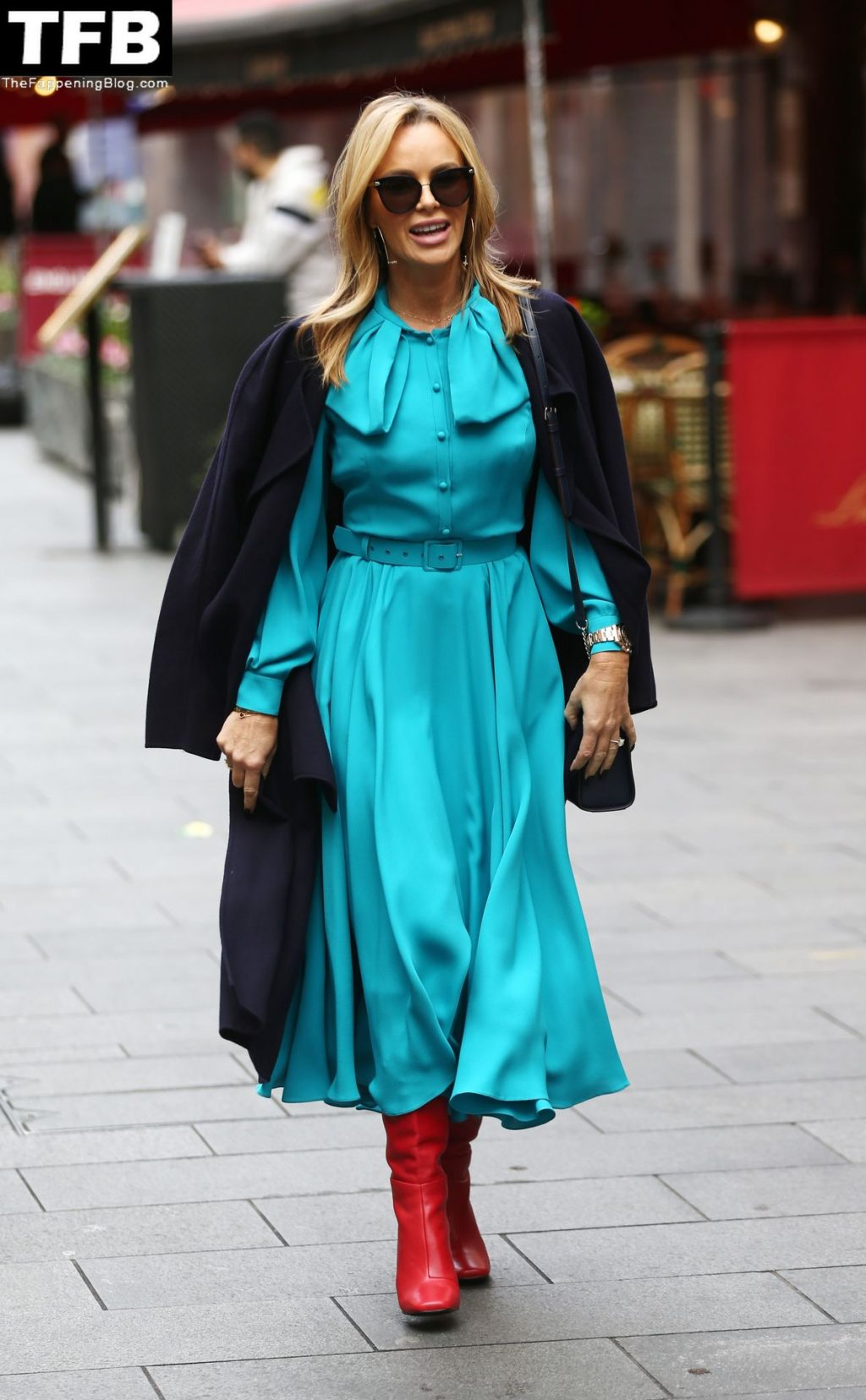 Amanda Holden is Spotted at Global Studios (71 Photos)
