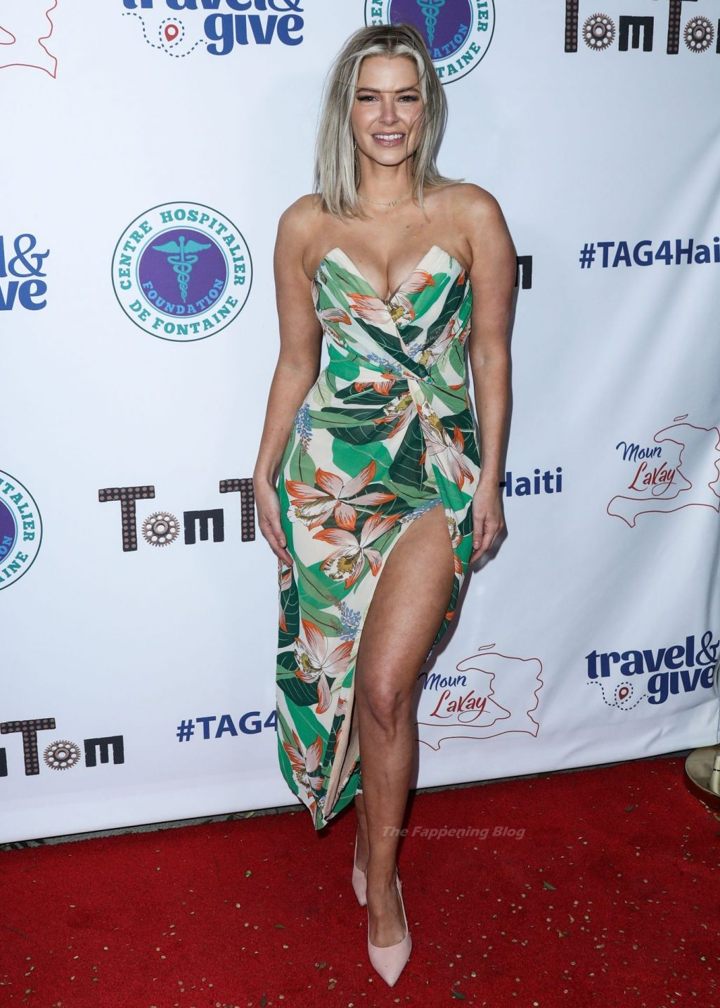Ariana Madix Shows Off Her Cleavage at Travel and GIVE's Event (35 Photos)