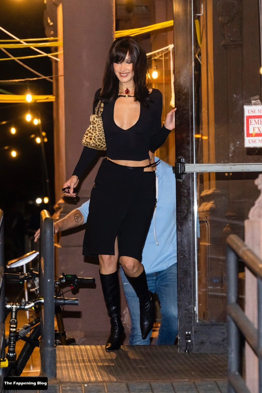 Bella Hadid Goes Braless as She Celebrates Her 25th Birthday in New York (82 Photos)