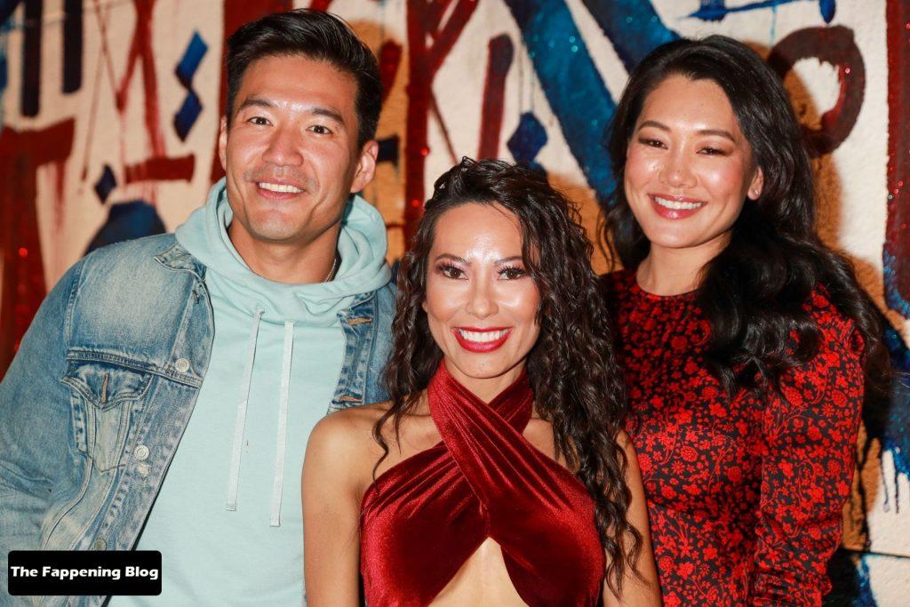 Leggy Christine Chiu Celebrates Her DWTS Performance at Craig's (16 Photos)