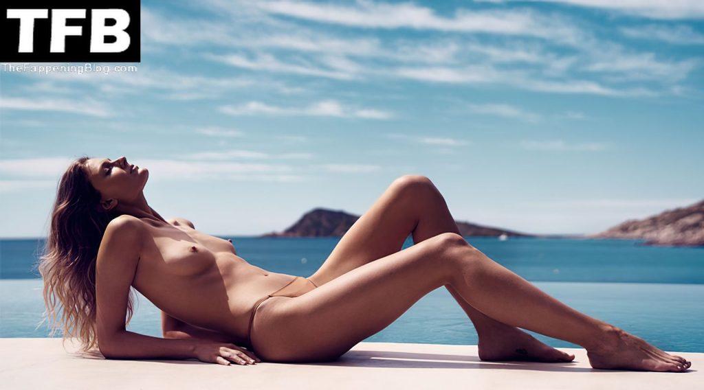 Constance Jablonski Poses Nude (4 Photos)