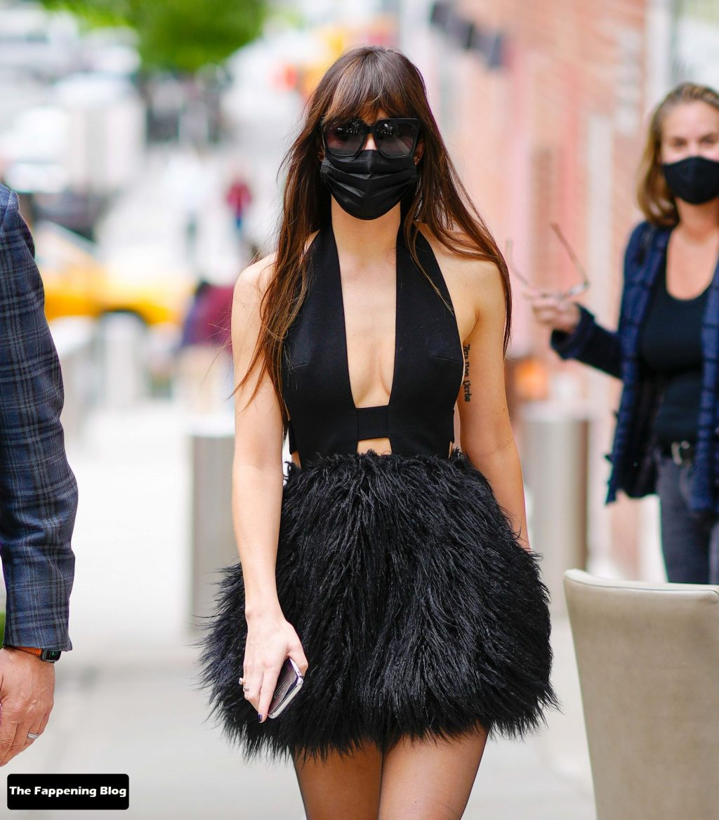 Leggy Dakota Johnson Steps Out in a Revealing Dress in NYC (23 Photos)