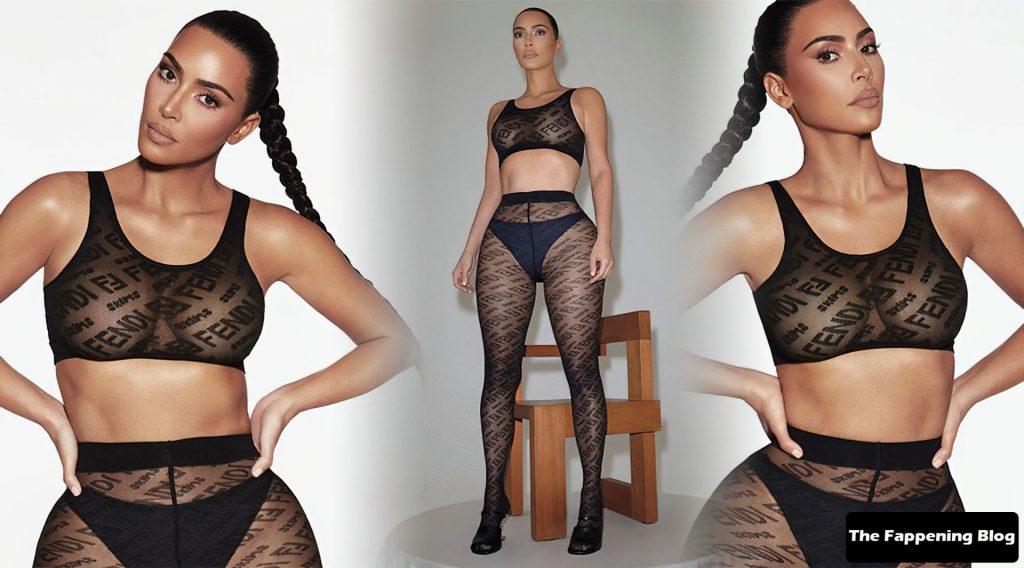 Kim Kardashian Sexy (1 Collage Photo)