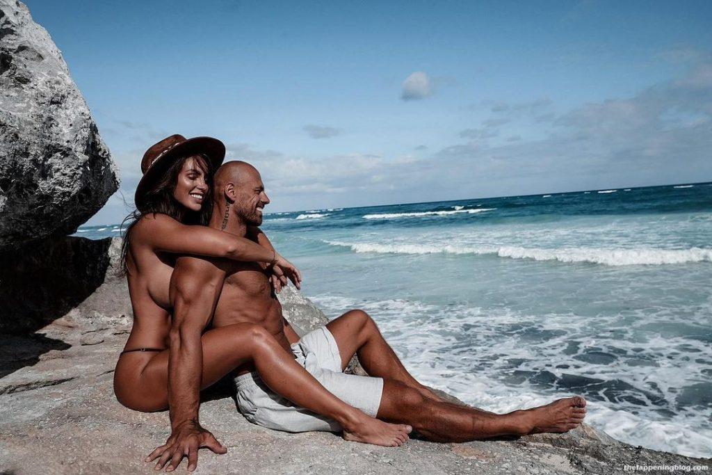 Lucia Javorcekova Poses Topless in Mexico (13 Photos)