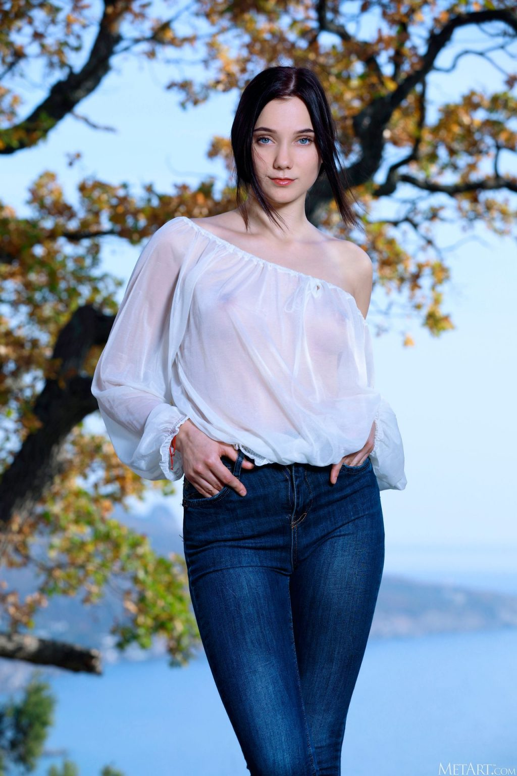 Polly Pure Nude – Blue Jeans (120 Photos)