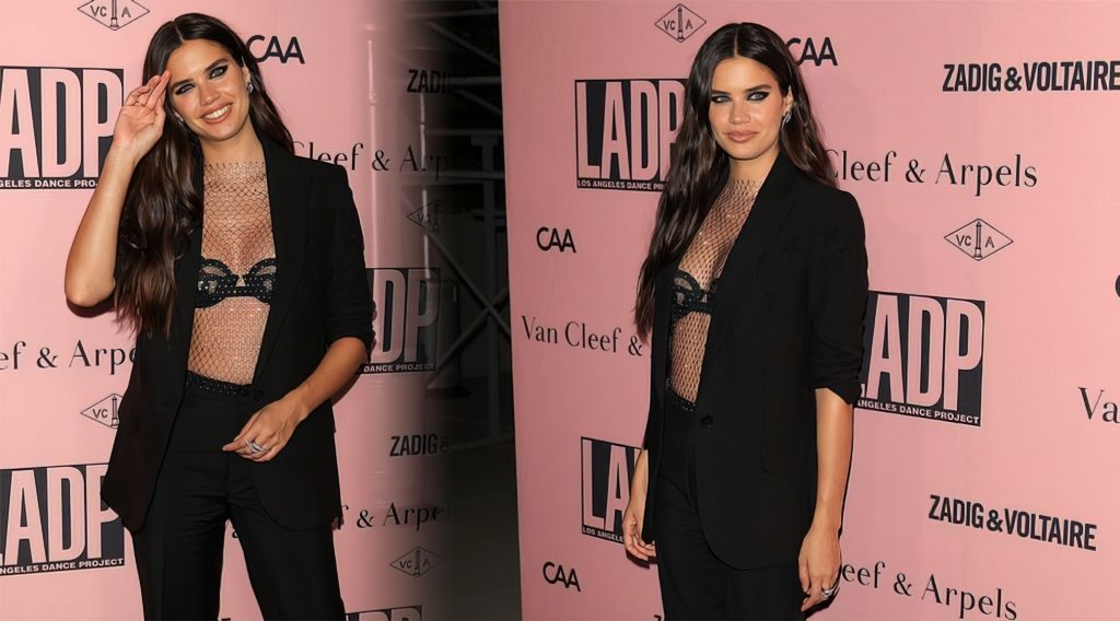 Sara Sampaio Looks Sexy at the L.A. Dance Project 2021 Gala (51 Photos)