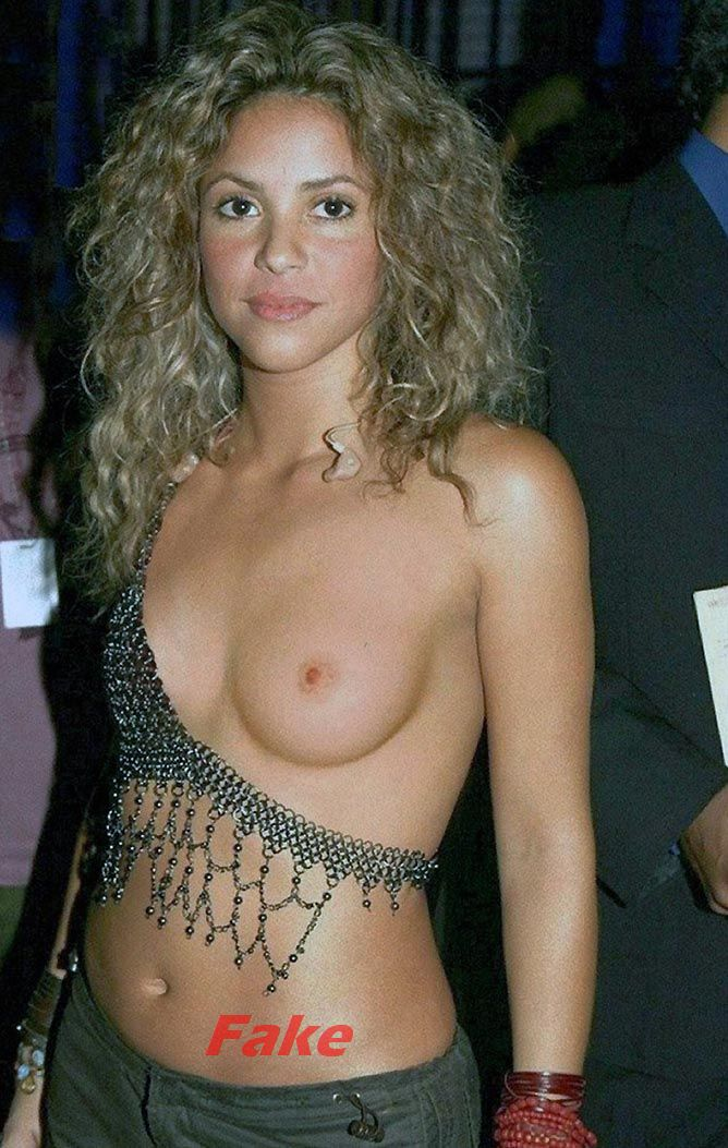 Shakira Nude Fake