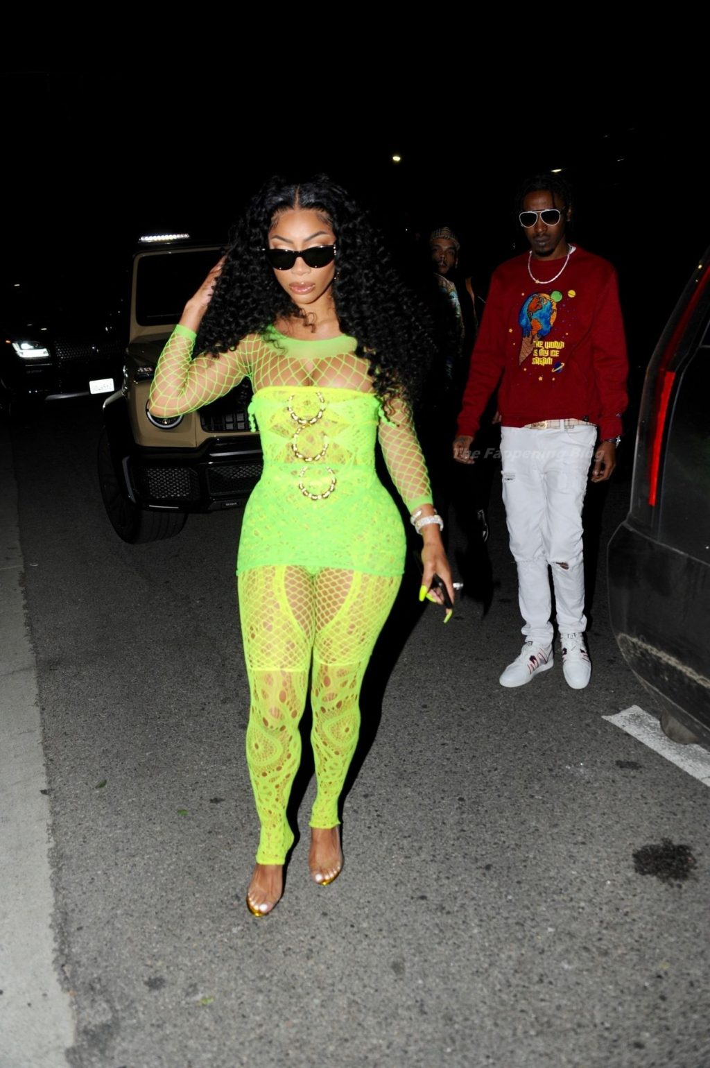 Tommie Lee Attends Cardi B's Birthday Party (29 Photos)