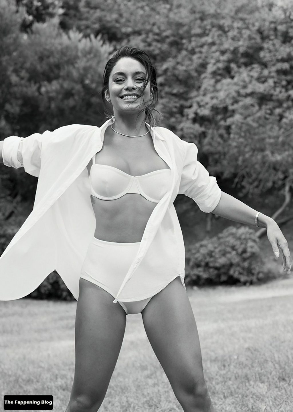Vanessa Hudgens Shows Her Sexy Tits For Shape Magazine (18 Photos)