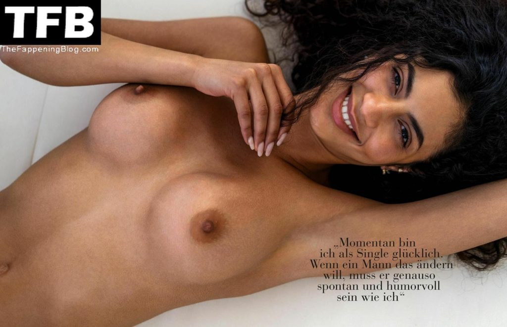 Dalila Jabri Nude – Playboy Germany (5 Photos)